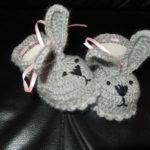 Babyschuhe Hase